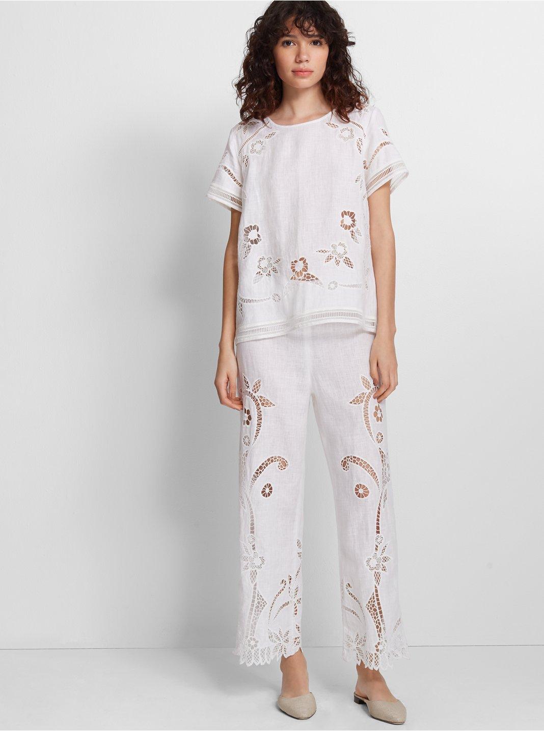 Lorrenah Linen Pant