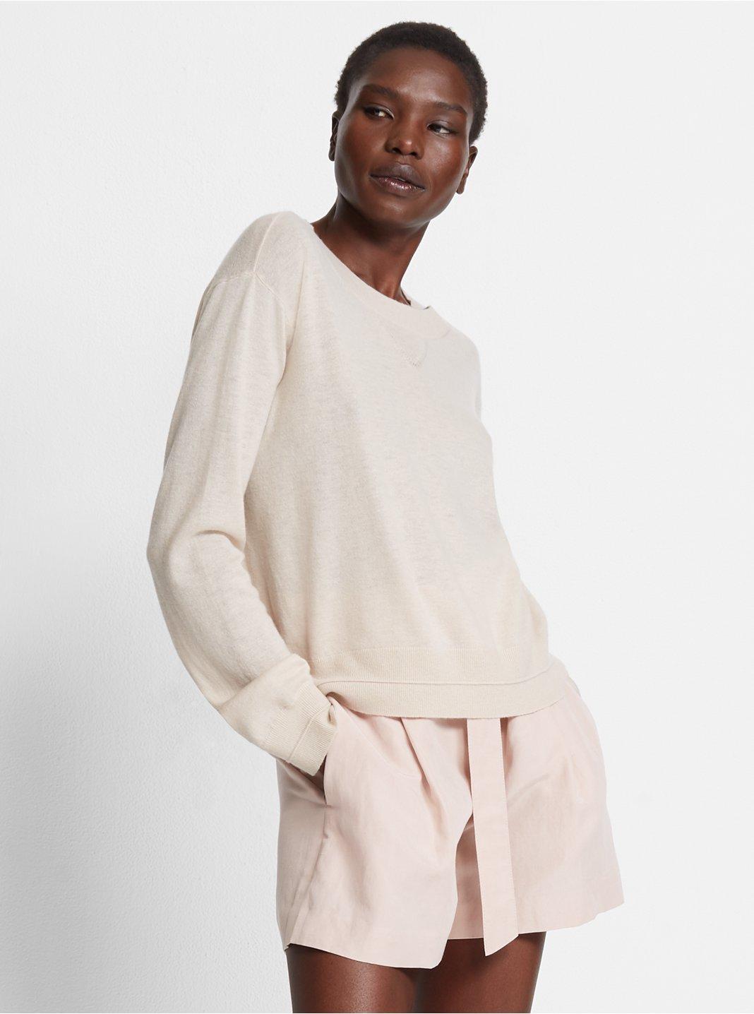 Cashmere Sweatshirt Sweater