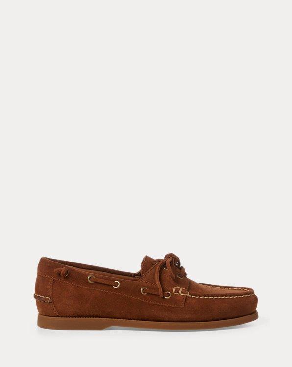 Chaussures bateau Merton en daim