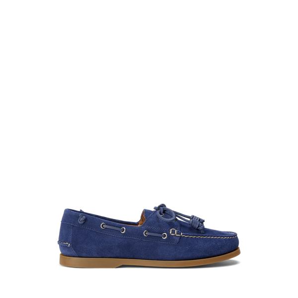 폴로 랄프로렌 보트 슈즈 Polo Ralph Lauren Merton Suede Boat Shoe,Newport Navy