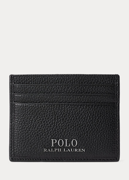 Polo RalphLauren Pebbled Leather Card Case
