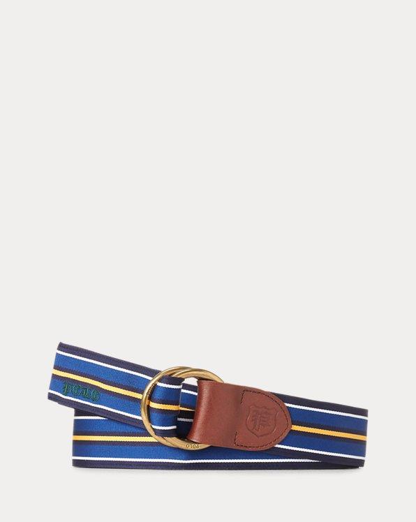 Grosgrain O-Ring Belt