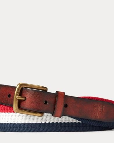 Striped Cotton Belt