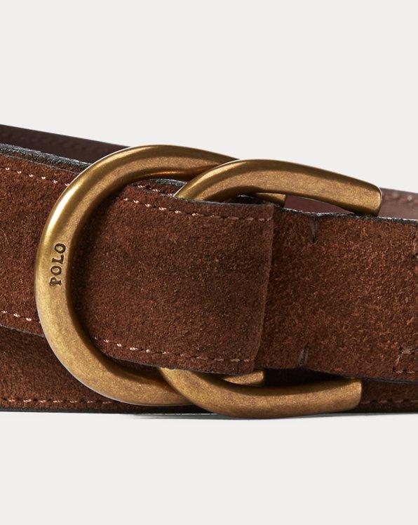 Suede D-Ring Belt