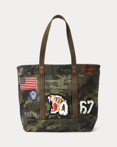 a9d7fce7d Canvas Camo Tote Bag. Polo Ralph Lauren. Canvas Camo Tote Bag. $165.00.  Save to your Wishlist