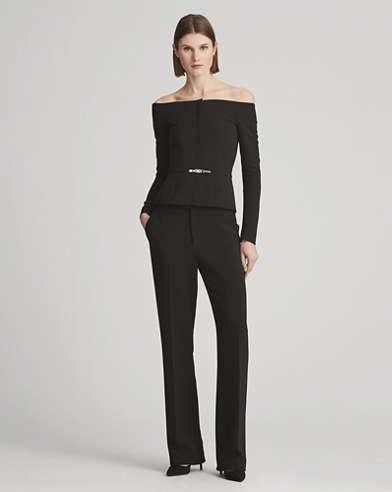 Quinlan Double-Faced Wool Pant