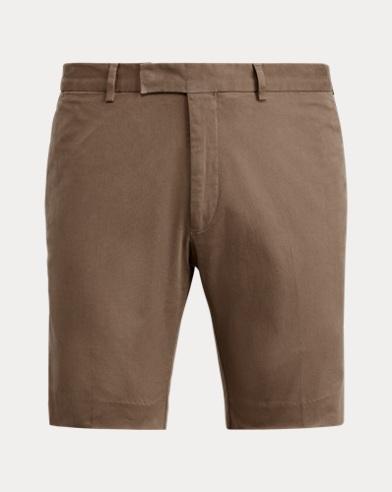 Slim Fit Stretch Chino Short