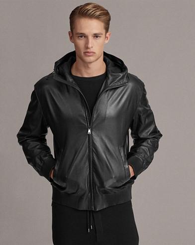 Nappa Leather Hoodie