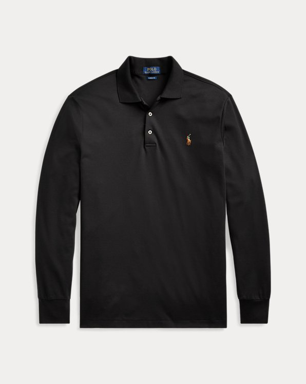 Classic Fit Langarm-Polo