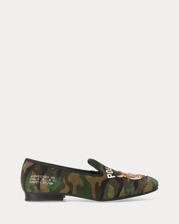 Chaussons Paxton en daim camouflage