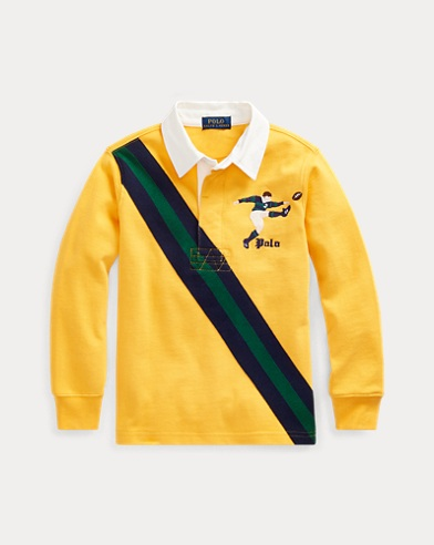 Rugbyhemd aus Baumwolljersey