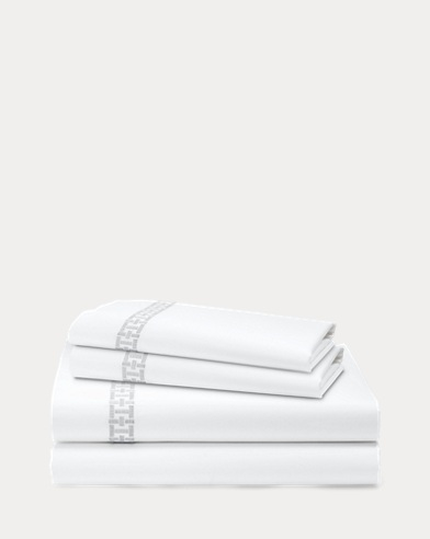 Spencer Embroidery Sheet Set