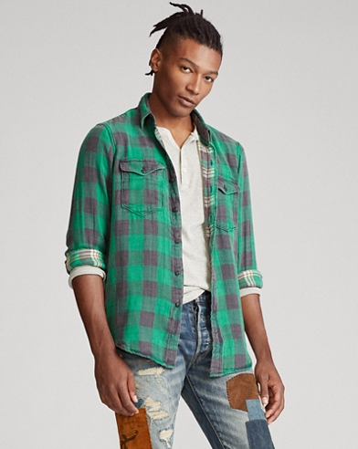 huge selection of 0797d 5067a Designer Herrenhemden | Flanell- & Jeanshemden | Ralph Lauren DE