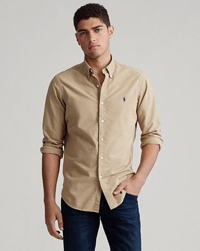 Slim-Fit Oxfordhemd