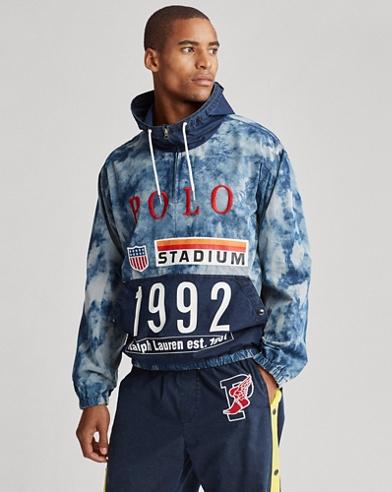 Indigo Stadium Popover Jacket