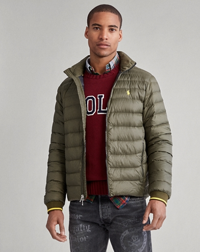 Packable Quilted Down Jacket