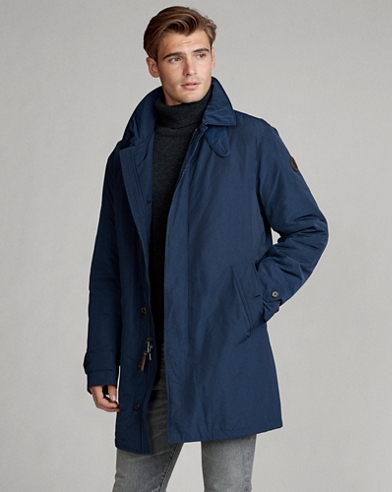 Water-Resistant Commuter Coat