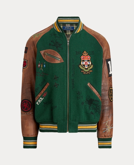 Varsity-Inspired Jacket