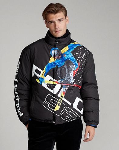 Doudoune skieur