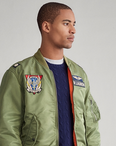 Twill Bomber Jacket