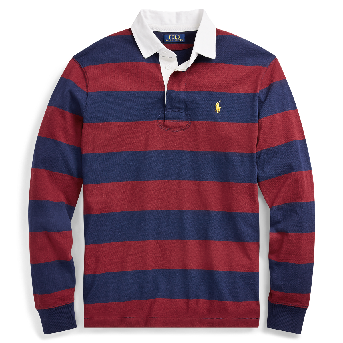Polo Ralph Lauren Big /& Tall Big Pony Polo Rugby RED Shirt  FREE SHIPPING