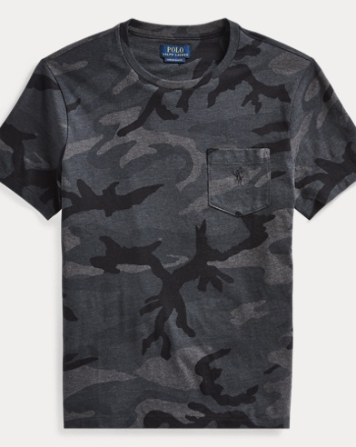 Classic Fit Camo Tee