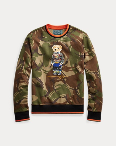 Polo Bear Camo Sweatshirt