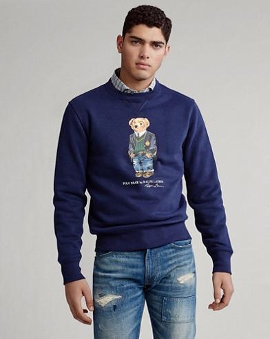 Preppy Bear Fleece Sweatshirt