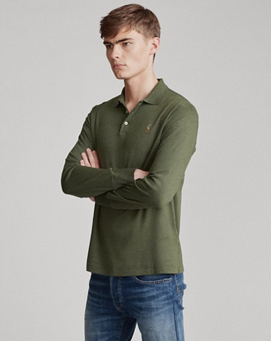 e33f74ed Men's Polo Shirts - Long & Short Sleeve Polos   Ralph Lauren