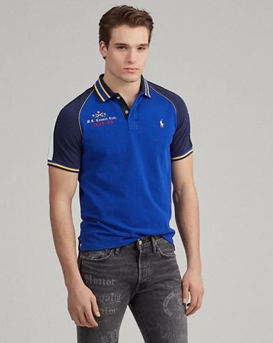 Custom Slim Fit Souvenir-Polohemd
