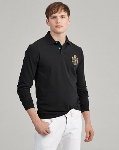 Classic Fit Crest Polo Shirt