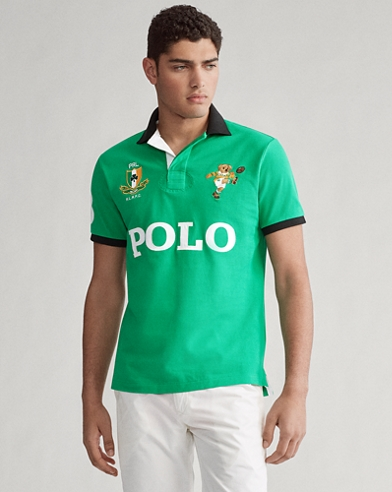 Polo Custom Slim con Polo Bear de Irlanda