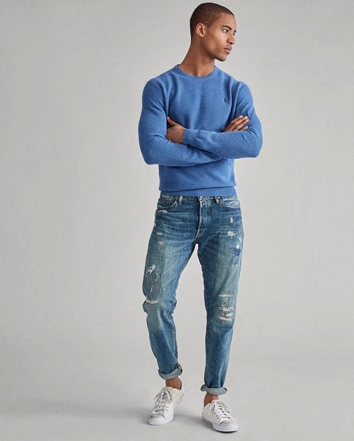 Polo Ralph Lauren Cotton Crewneck Sweater 1