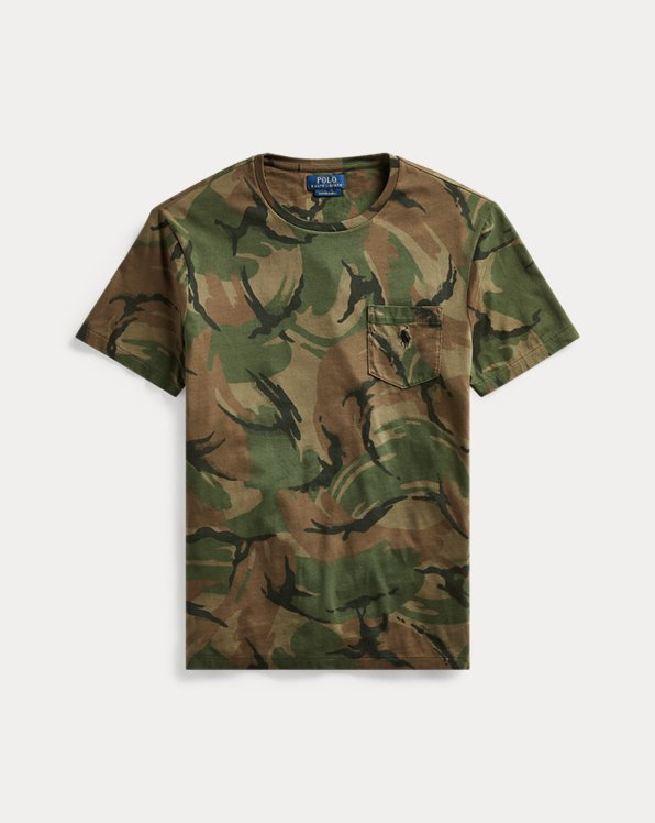 Camiseta de camuflaje Custom Slim Fit