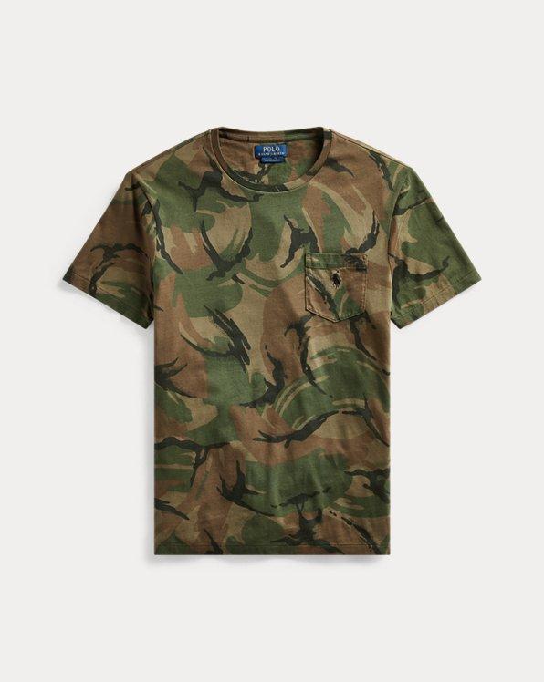 Maglietta camouflage Custom Slim-Fit