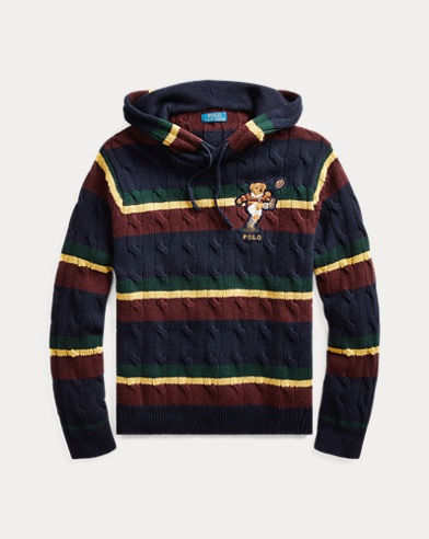 Kicker Bear Cable Knit Sweater