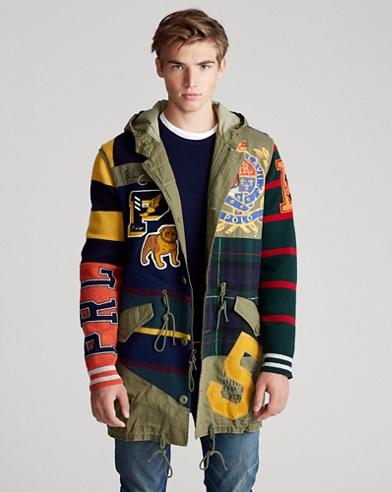 Patchwork Marsh Coat
