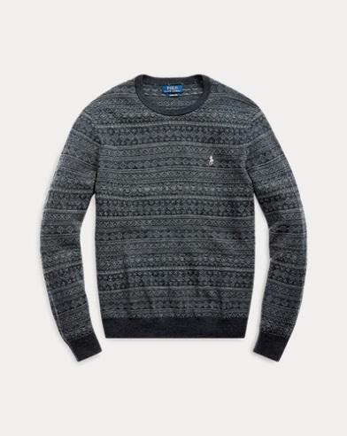 Fair Isle Merino Wool Sweater