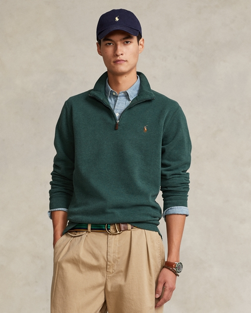 Polo Ralph Lauren Estate-Rib Half-Zip Pullover 1