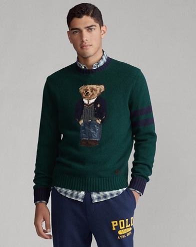 Pullover mit Preppy Bear