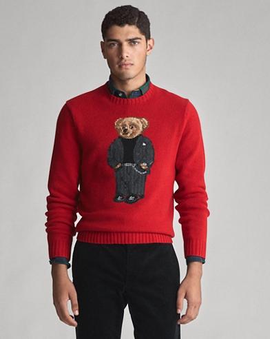 Suit Bear Wool Jumper