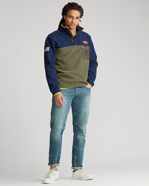 Polo Ralph Lauren Fleece Mockneck Pullover 3