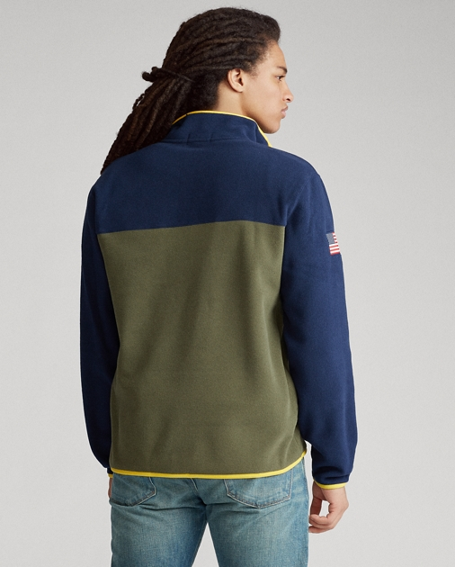 Polo Ralph Lauren Fleece Mockneck Pullover 5