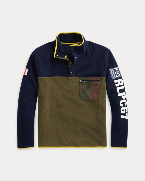 Polo Ralph Lauren Fleece Mockneck Pullover 2