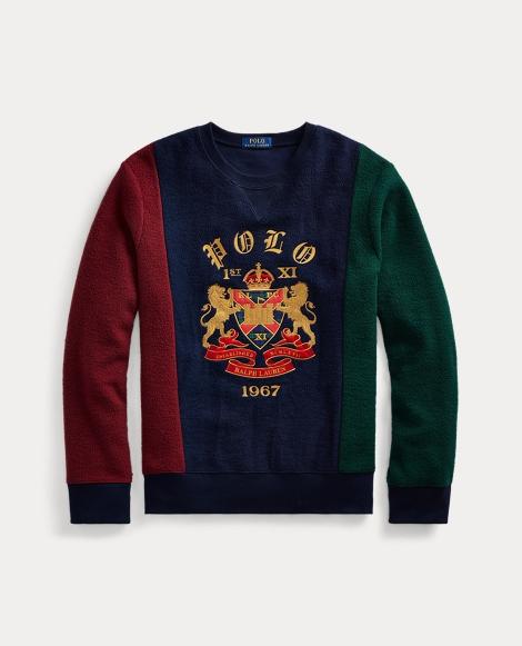 Crest Fleece Sweatshirt