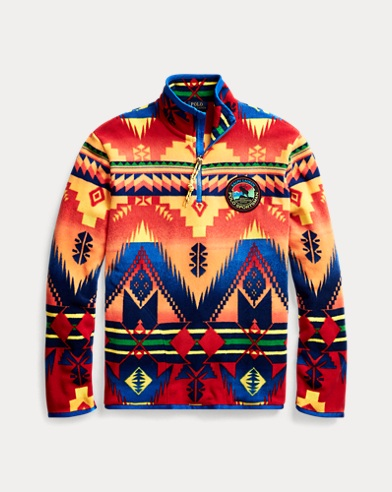 Southwestern Half-Zip Pullover