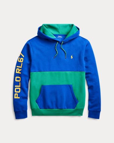 Color-Blocked Hoodie