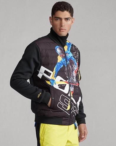 Skier Hybrid Down Jacket