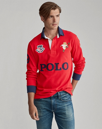 Classic Fit England Bear Rugby