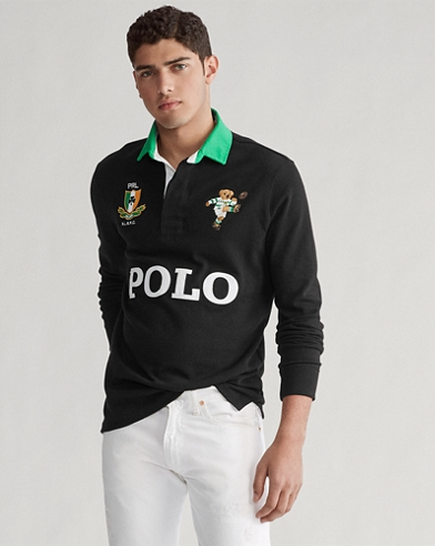 Classic Fit Ireland Bear Rugby